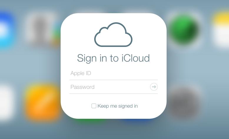 iCloud Startseite