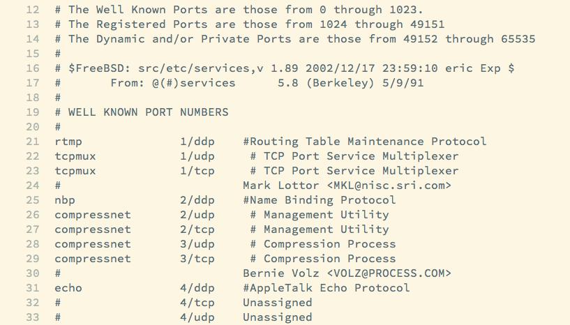 Die Datei services
