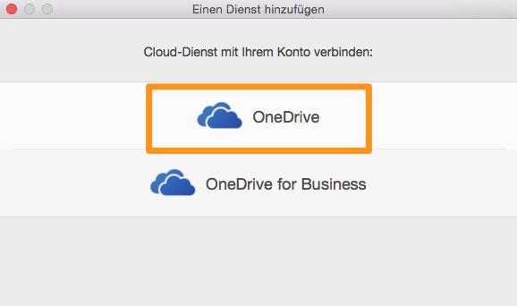 OneDrive-Konto mit Word verbinden