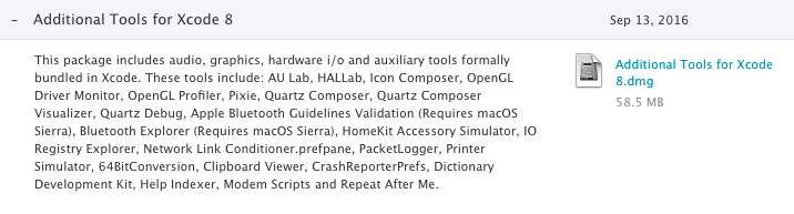 Install Additional Tools for Xcode