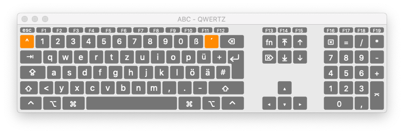 virtual keyboard in macos