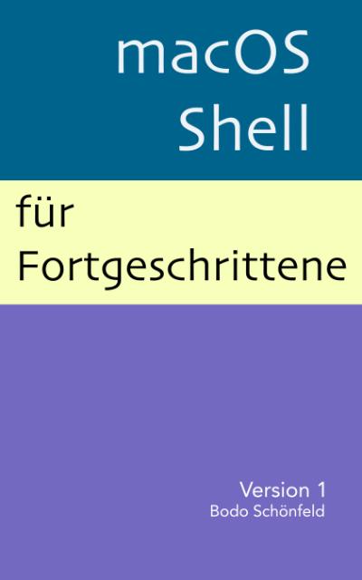 Cover zum eBook macOS-Shell für Fortgeschrittene