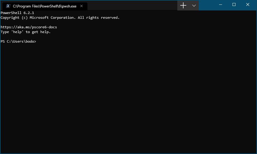 Windows Terminal (Preview) installieren