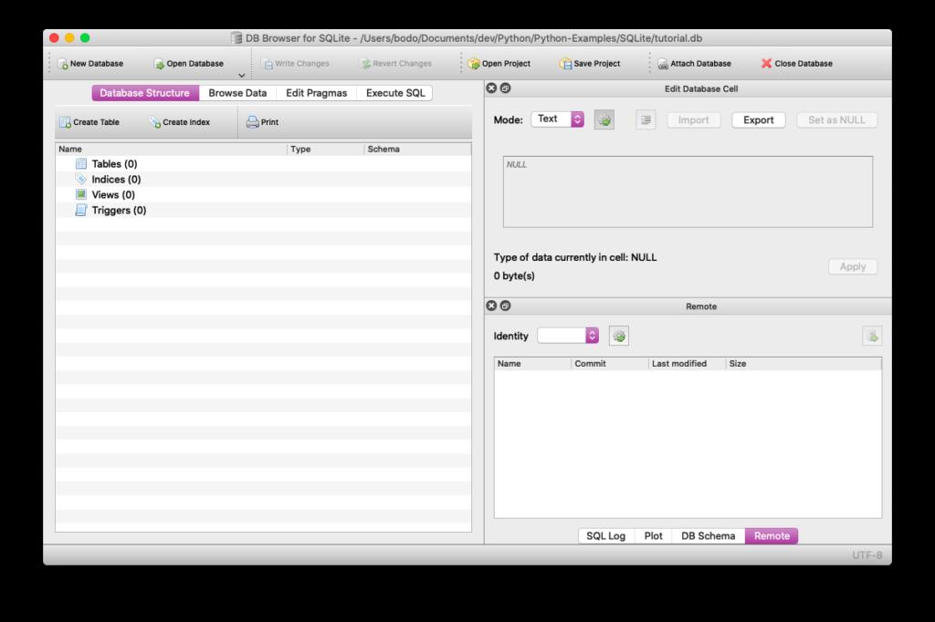 DB Browser für SQLite