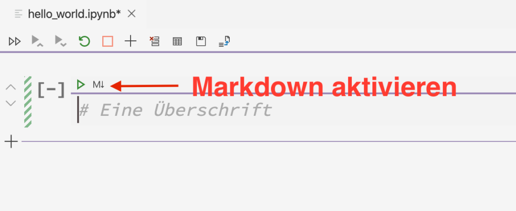 Markdown in Jupyter Notebook