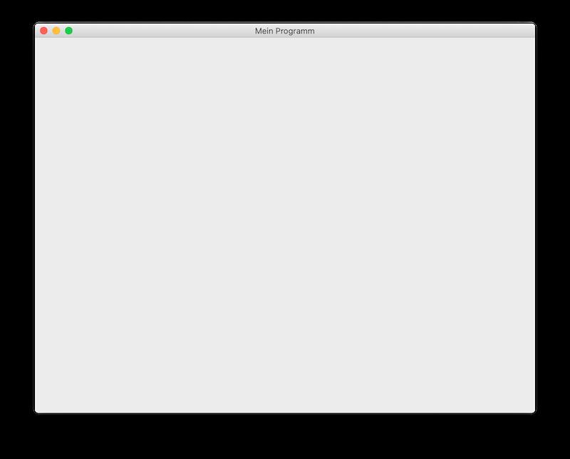 Ein mit PyQt5 erstelltes Fenster