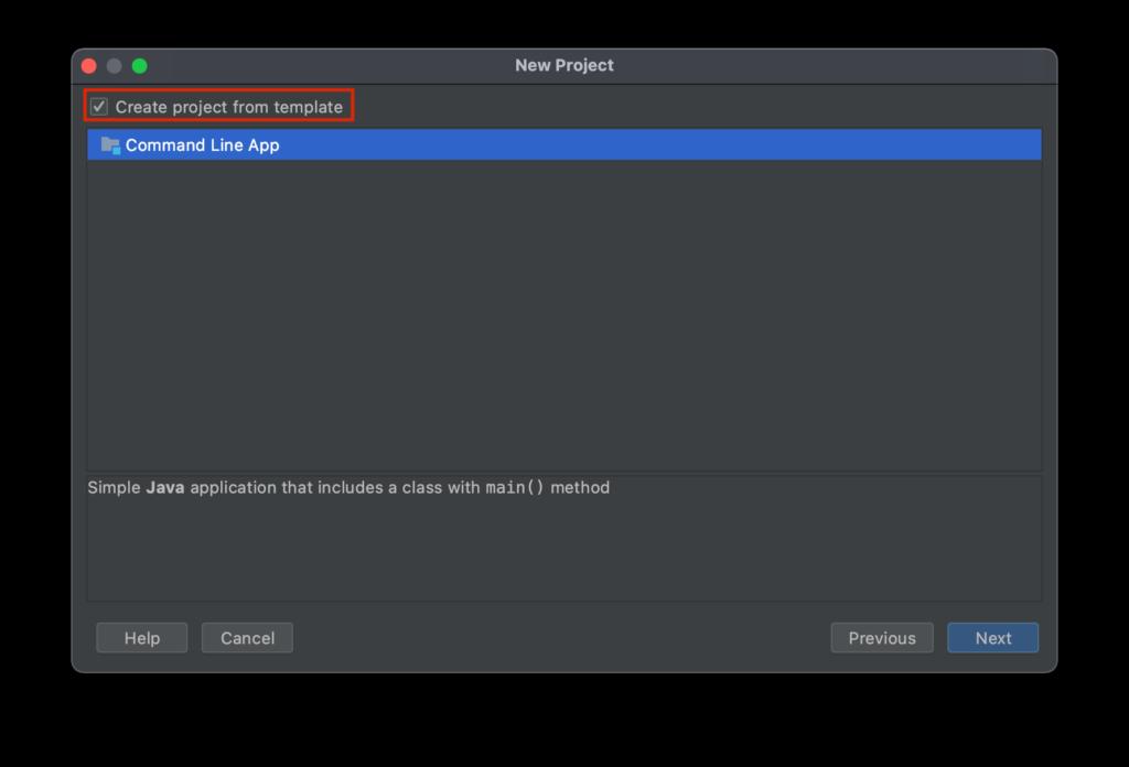 Create a Command Line App with IntelliJ IDEA