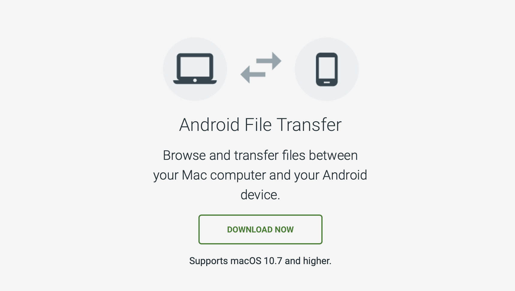 Android File Transfer App for macOS