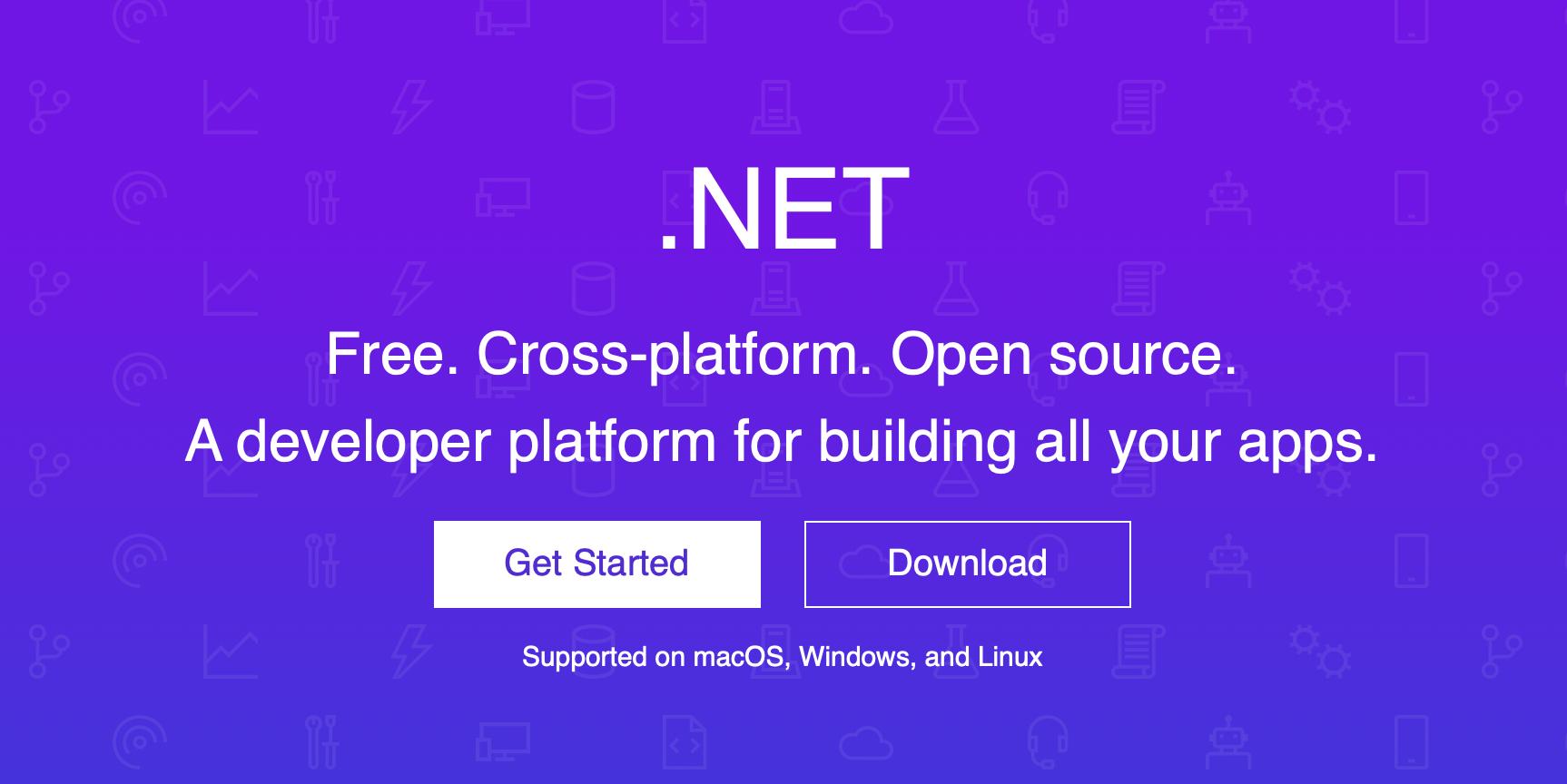 Download dotnet